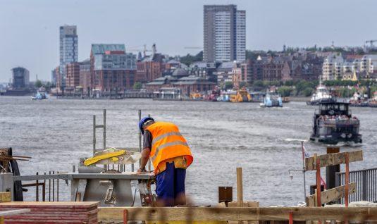 Baustelle Hafen